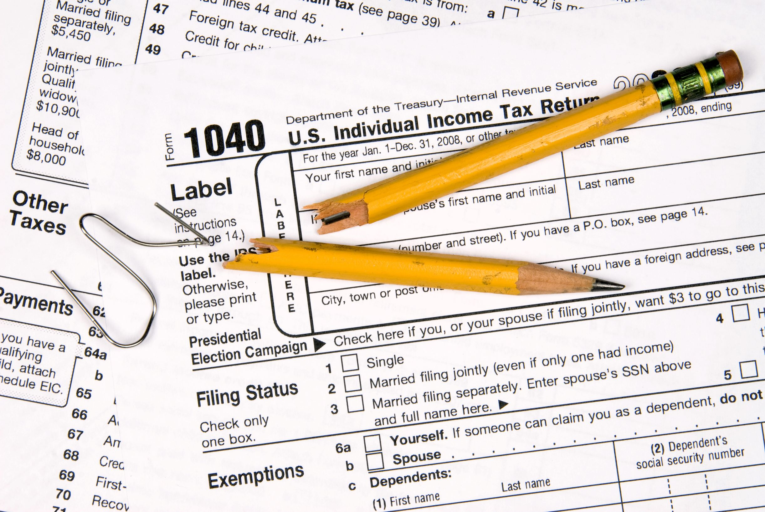 """Forget"" to file a tax return? You'd be well-advised to remember to do so, and quickly."